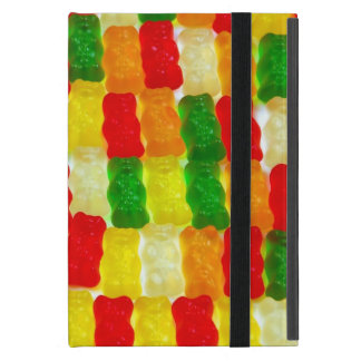 Coque iPad Mini Mini cas de gummi d'ours d'ipad coloré de sucrerie