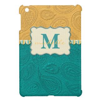 Coque iPad Mini Monogramme de motif de Paisley