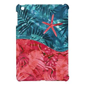 Coque iPad Mini Motif tropical de plage d'été