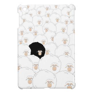 Coque iPad Mini Moutons noirs