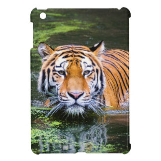Coque iPad Mini Natation de tigre