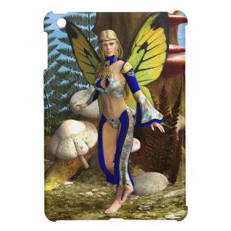 Coque iPad Mini Papillon féerique