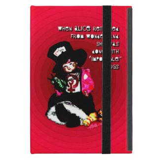 """Coque iPad Mini """"Quand Alice est retournée"""" par Aleta"""