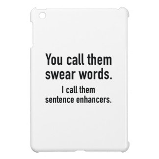 Coque iPad Mini Renforceurs de phrase