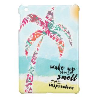 Coque iPad Mini réveillez et sentez l'inspiration, la plage et la