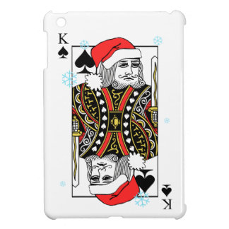 Coque iPad Mini Roi de Joyeux Noël des pelles