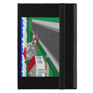 Coque iPad Mini Routes et construction