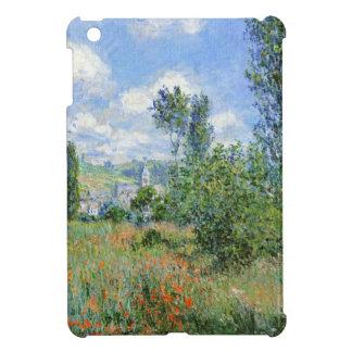 Coque iPad Mini Ruelle dans les domaines de pavot - Claude Monet