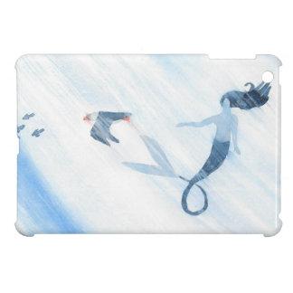 Coque iPad Mini Sirène et macareux