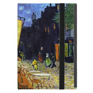 Coque iPad Mini Terrasse de café la nuit par Vincent van Gogh 1888