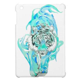 Coque iPad Mini tigre bleu