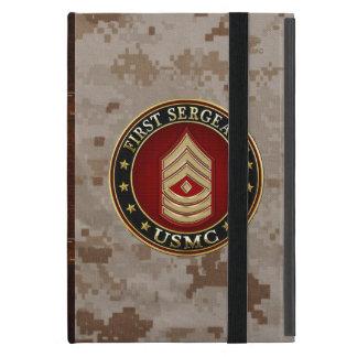 Coque iPad Mini U.S. Marines : Premier sergent (usmc 1stSgt) [3D]