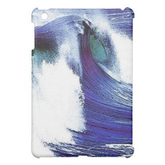 Coque iPad Mini Vague bleue
