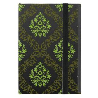 Coque iPad Mini Vert floral de papier peint