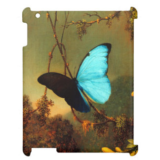 Coque iPad Papillon bleu de Martin Johnson Heade Morpho