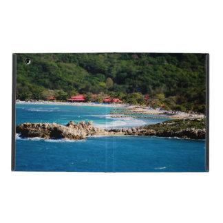 Coque iPad Paradis tranquille Labadee Haïti d'île