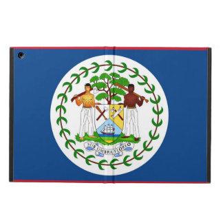 Coque ipad patriotique avec le drapeau de Belize