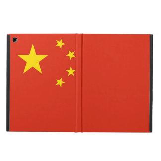 Coque ipad patriotique avec le drapeau de la Chine