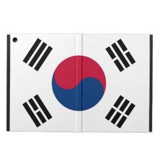 Coque ipad patriotique avec le drapeau de la Corée