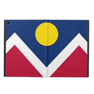 Coque ipad patriotique avec le drapeau de la ville