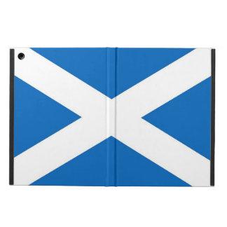 Coque ipad patriotique avec le drapeau de l'Ecosse