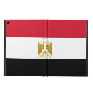 Coque ipad patriotique avec le drapeau de l'Egypte