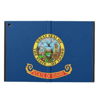 Coque ipad patriotique avec le drapeau de l'Idaho
