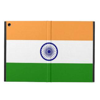 Coque ipad patriotique avec le drapeau de l'Inde