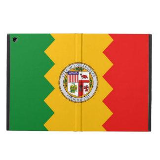 Coque ipad patriotique avec le drapeau de Los