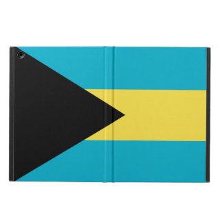 Coque ipad patriotique avec le drapeau des Bahamas