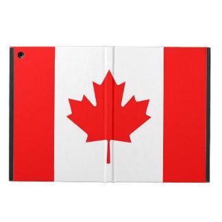 Coque ipad patriotique avec le drapeau du Canada