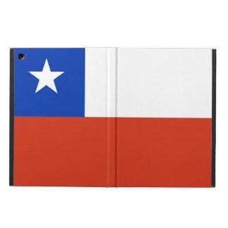 Coque ipad patriotique avec le drapeau du Chili
