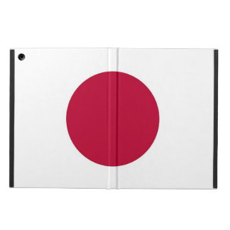 Coque ipad patriotique avec le drapeau du Japon