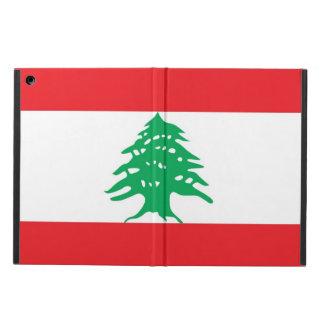 Coque ipad patriotique avec le drapeau du Liban