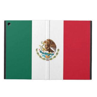 Coque ipad patriotique avec le drapeau du Mexique