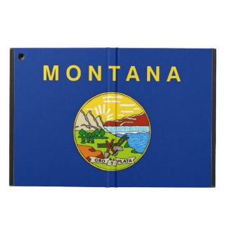Coque ipad patriotique avec le drapeau du Montana