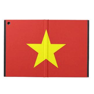 Coque ipad patriotique avec le drapeau du Vietnam