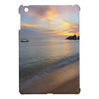 Coque ipad pour la plage de scène de bel océan