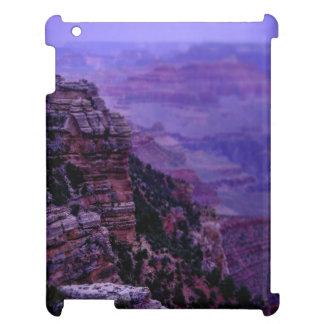 Coque ipad pourpre de canyon grand