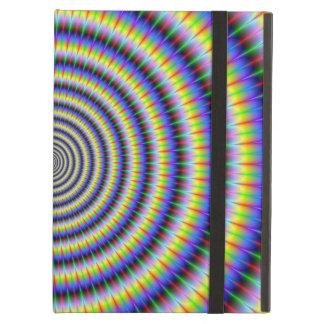 Coque ipad rechignant de cercles d'oeil