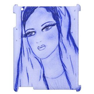 Coque iPad Starlight Mary dans le bleu