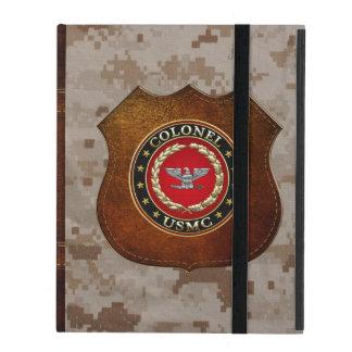 Coque iPad U.S. Marines : Colonel (Col d'usmc) [3D]