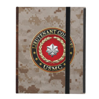 Coque iPad U.S. Marines : Lieutenant-colonel (usmc LtCol)