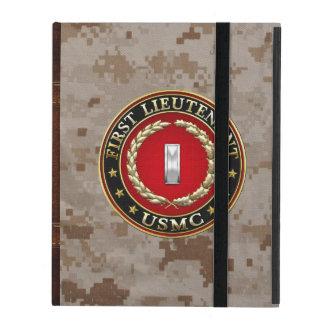 Coque iPad U.S. Marines : Premier lieutenant (usmc 1stLt)