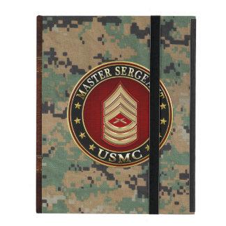 Coque iPad U.S. Marines : Sergent maître (usmc MSgt) [3D]