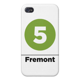 Coque iPhone 4/4S 5 Fremont-noirs