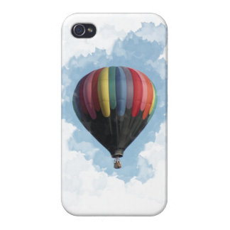 Coque iPhone 4/4S Ballon à air chaud coloré