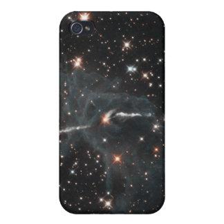 Coque iPhone 4/4S Fantôme mystérieux en nébuleuse de Carina
