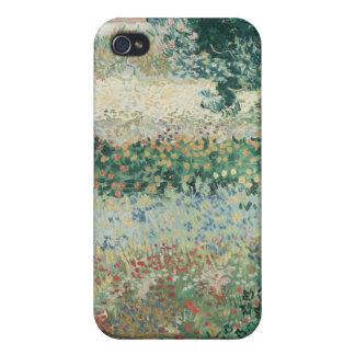Coque iPhone 4/4S Jardin de Vincent van Gogh | en fleur, Arles, 1888