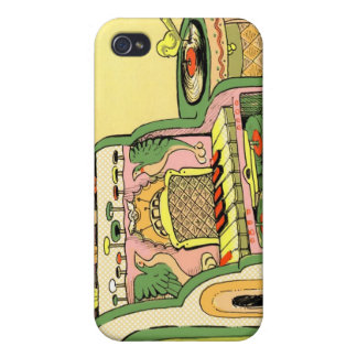 Coque iPhone 4/4S Juke-box céleste de Kaliedoscopic